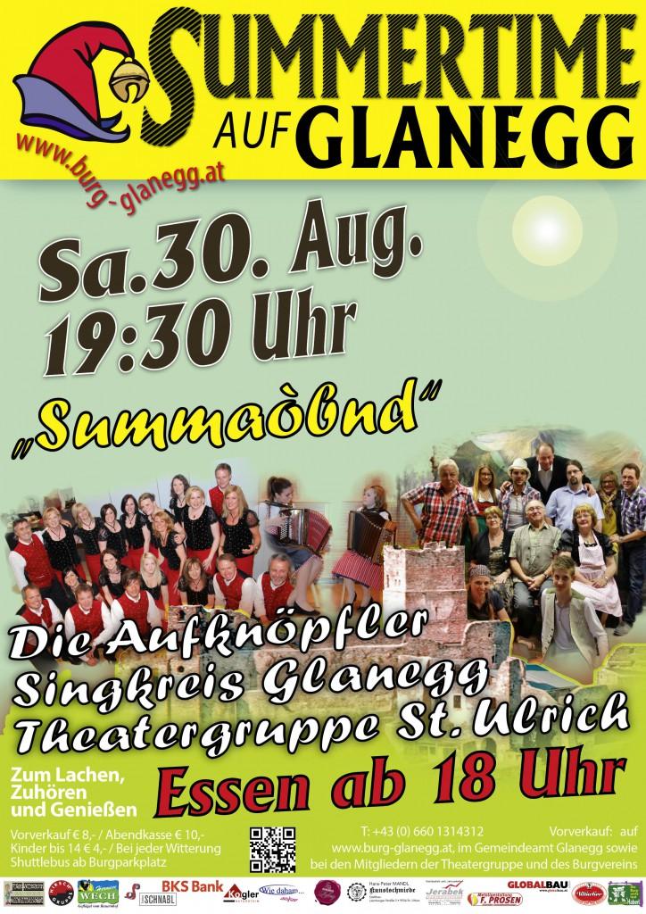 Summertime Plakat A4
