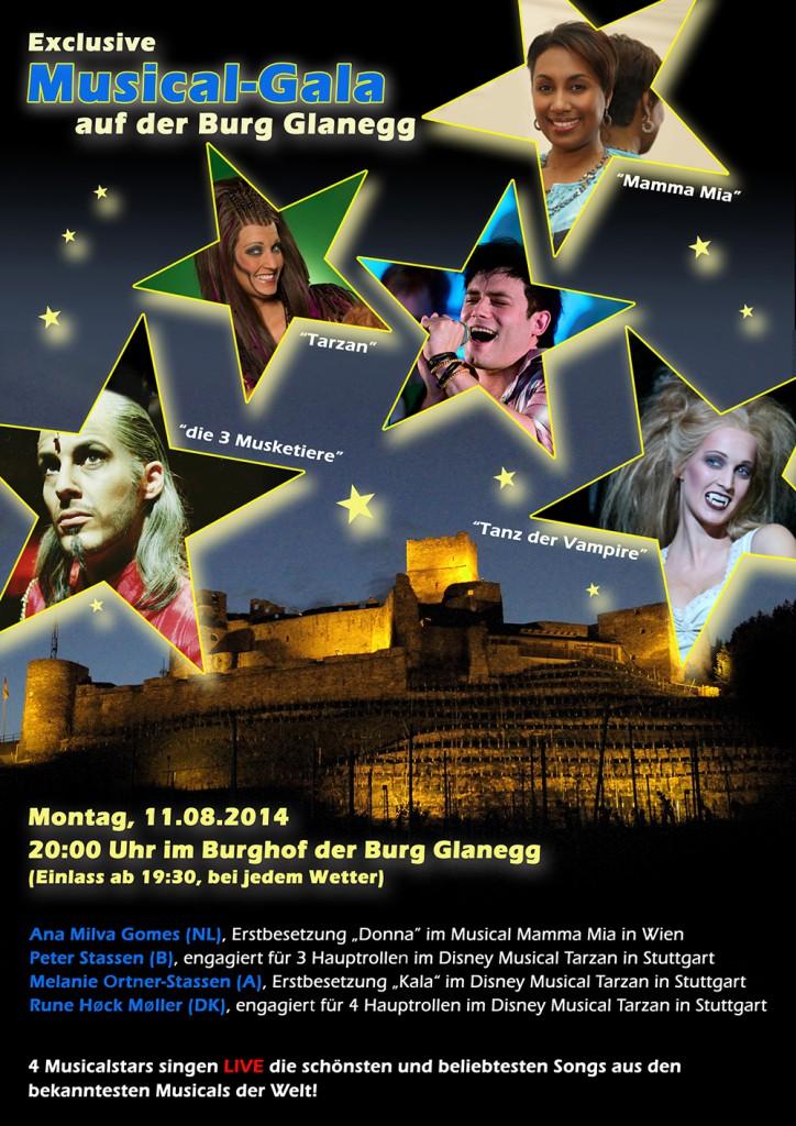 Plakat Musical Gala