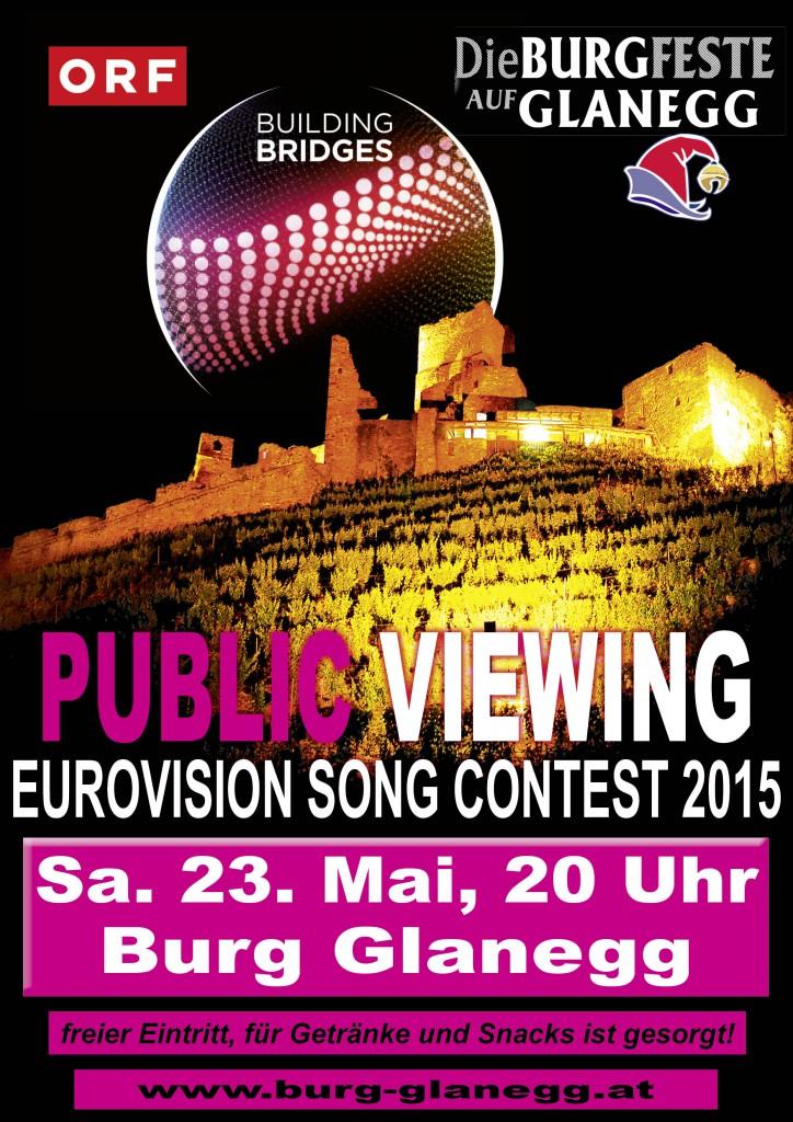 Gemeinsam an einem besonderen Ort den größten Europäischen Musikwettbewerb erleben.